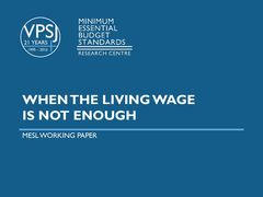 When The Living Wage is Not Enough